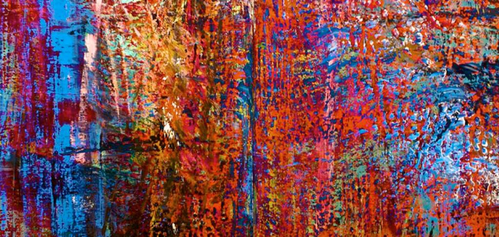 """Taste of Art. """"Thinking is painting"""" according to Gerhard Richter."""